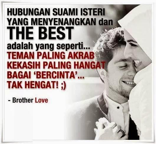 Hubungan Suami Isteri yang BEST