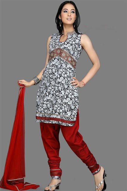 latest Churidar Shalwaar kameez