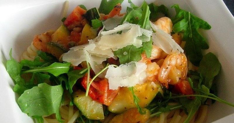 Id e recette rapide et facile spaghetti aux scampis et for Idee entree rapide