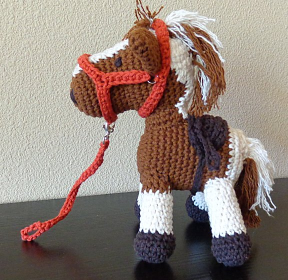 Amigurumi Cowboy : Crafting in a Small Town: Cowboy the Magic Horse