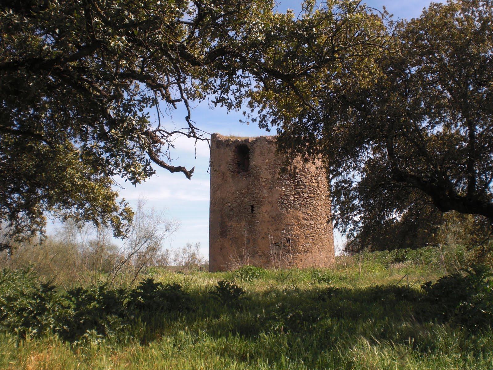 Atalayas de las Moitas y de Juana Castaña en Olivenza