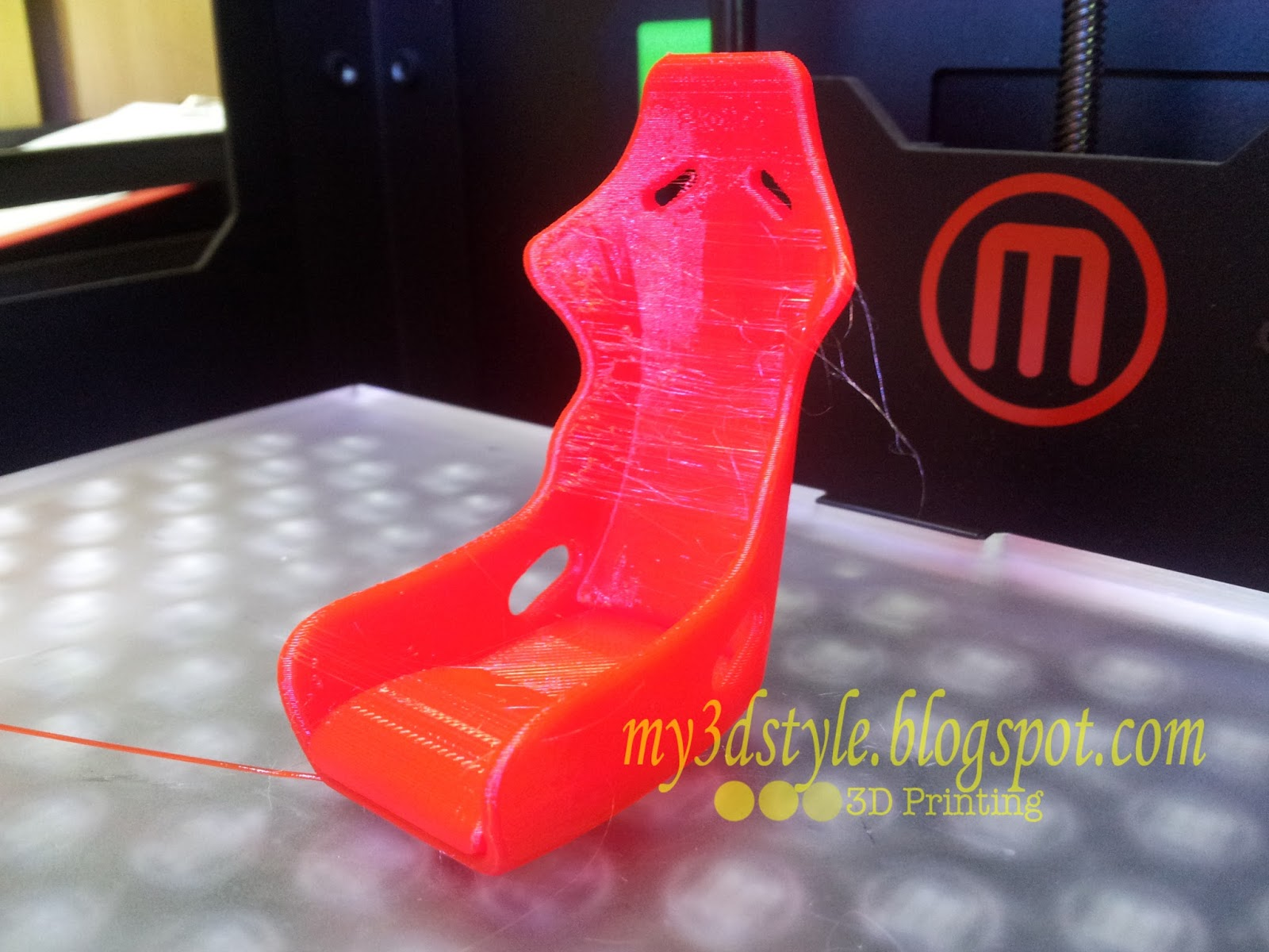 my 3d style recaro seat as my car keychain. Black Bedroom Furniture Sets. Home Design Ideas