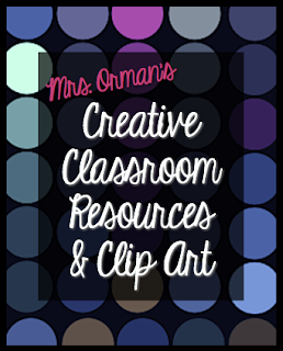Mrs. Orman's Creative Classroom Resources &amp; Clip Art www.teacherspayteachers.com/Store/Tracee-Orman