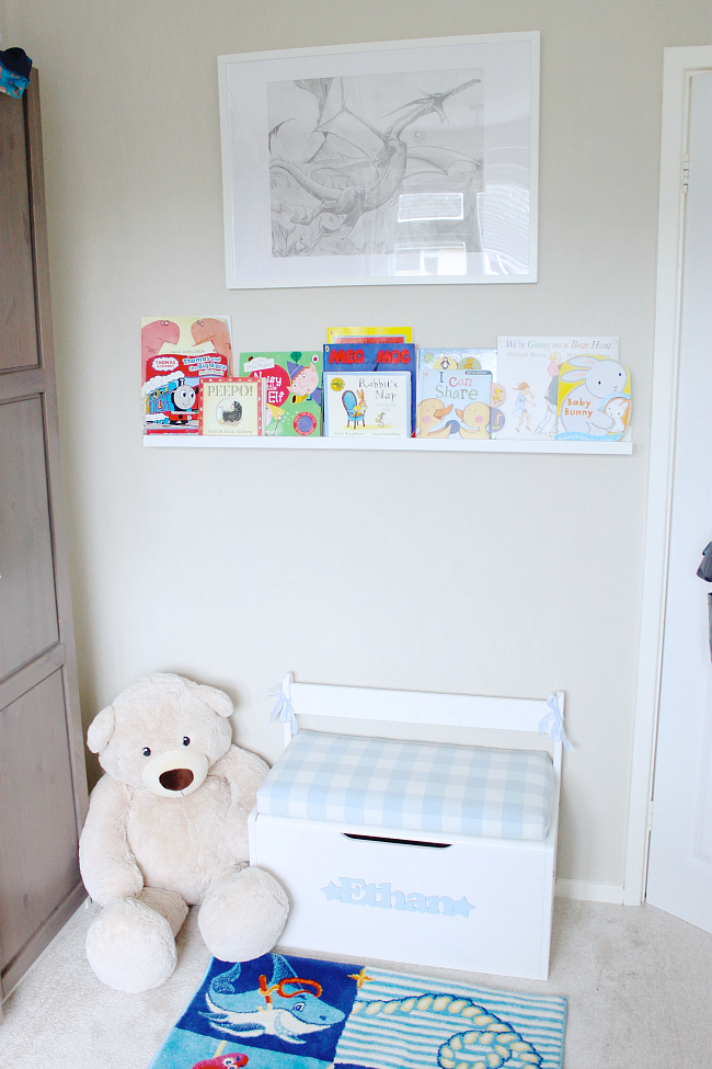 neutral nursery, bright toddler room