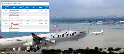 Chennai – Colombo flights cancelled