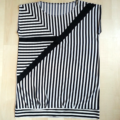 Black and White, Black and White Blouse, Sewing, Sewing projects
