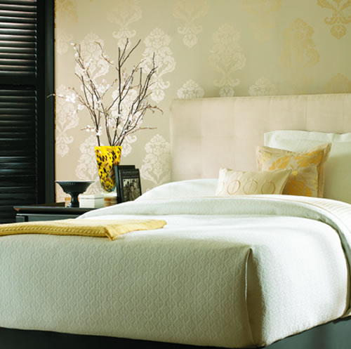 Candice Olson Bedroom Wallpaper Collection 2014 Modern