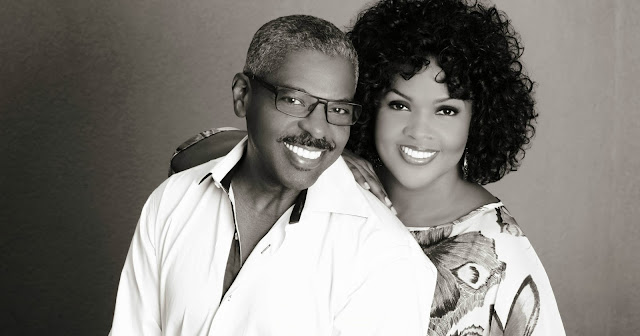 CeCe Winans and Alvin Love