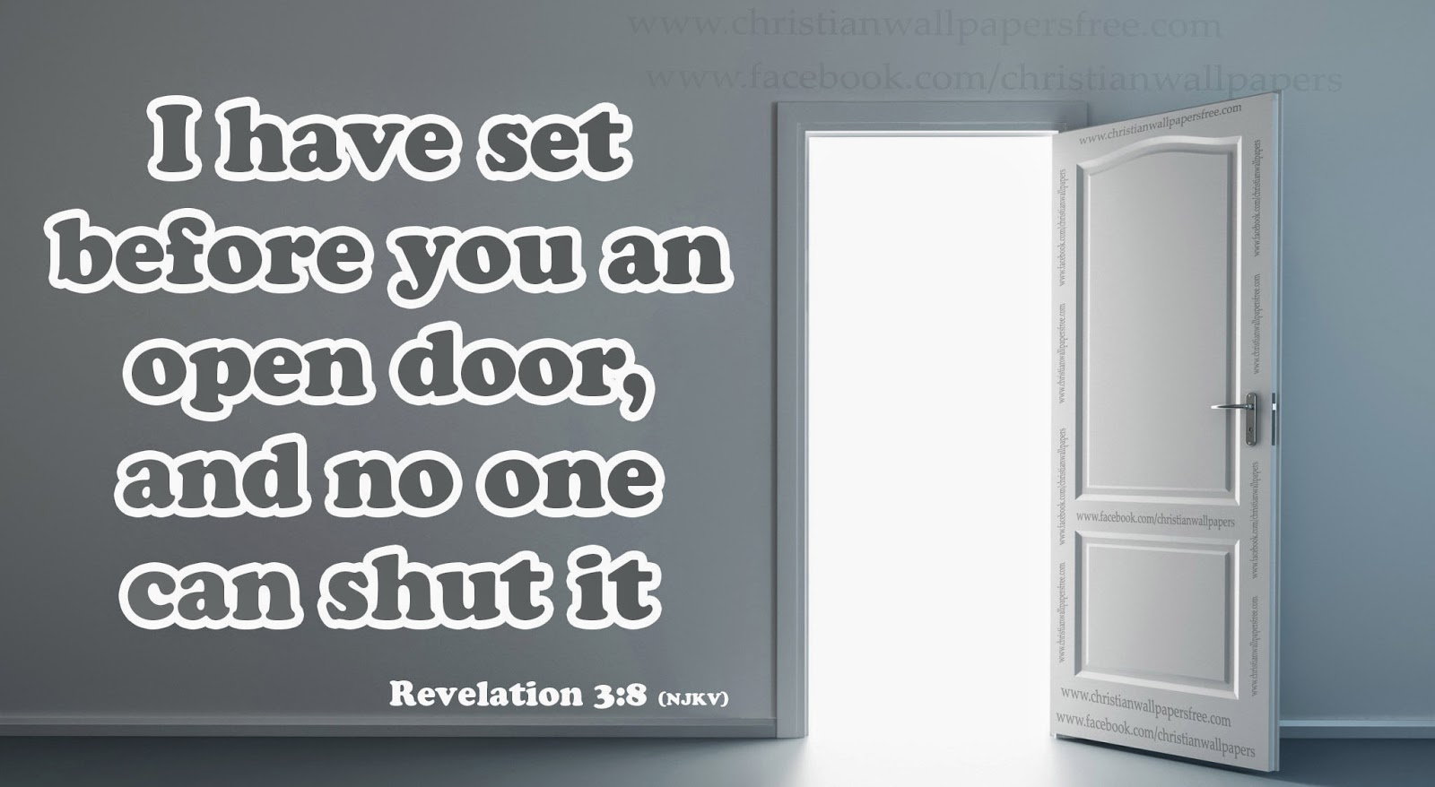 I have set before you an open door and no one can shut it  sc 1 st  Download HD Christmas \u0026 New Year 2018 Bible Verse Greetings Card ... & Download HD Christmas \u0026 New Year 2018 Bible Verse Greetings Card ...