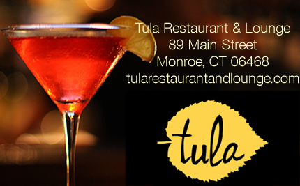 Visit Tula Restaurant and Lounge in Monroe, Connecticut