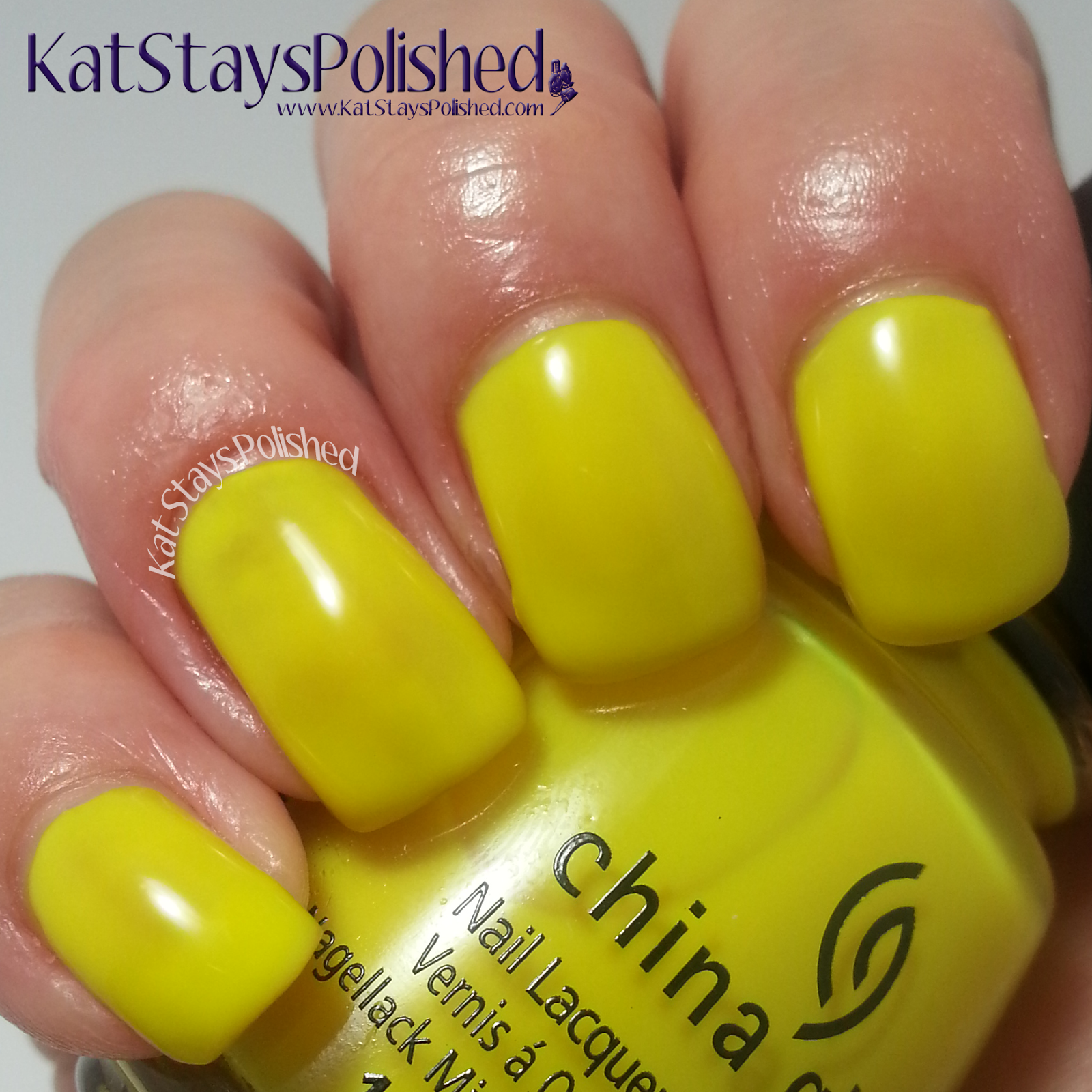 China Glaze Electric Nights - Daisy Know My Name | Kat Stays Polished