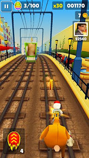 Screenshots of the Subway surfers: World tour Rome for Android tablet, phone.