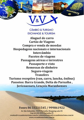 V & V - CÂMBIO & TURISMO