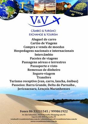 V & V - CÂMBIO & TURISMO