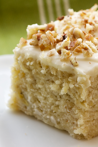 Cooking Recipes Banana Cake With Cream Cheese Frosting