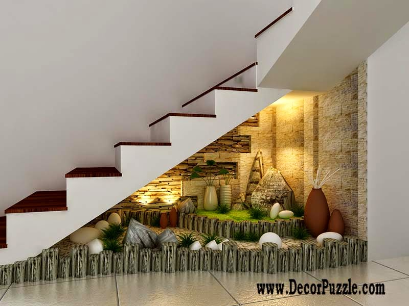 Innovative under stairs ideas and storage solutions for Garden design under the stairs