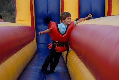 run and jump at the fun zone