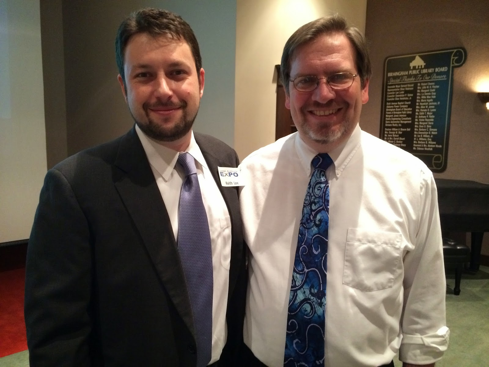 Speaker Keith Lee and Jared Millet