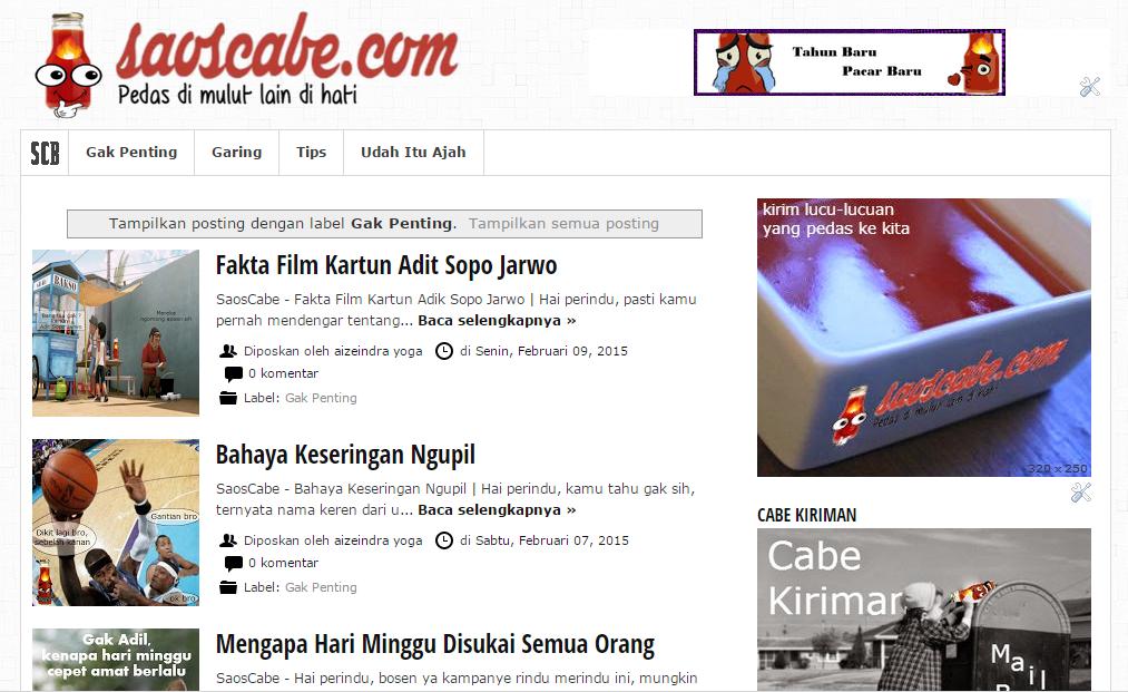 Website Humor Medan
