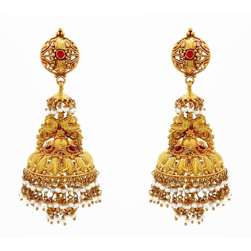 Traditional Jhumkas Design Fashion Pakistan Bridal