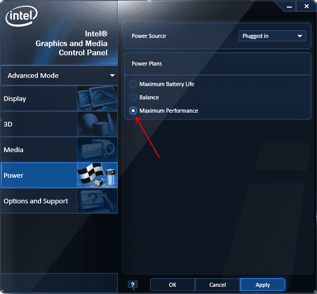 intel hd 4000 native resolution for 1080p
