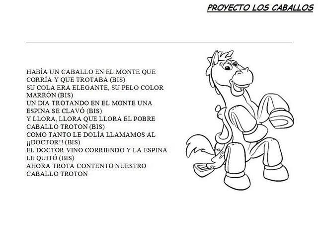 Imagenes Infantiles De Caballos