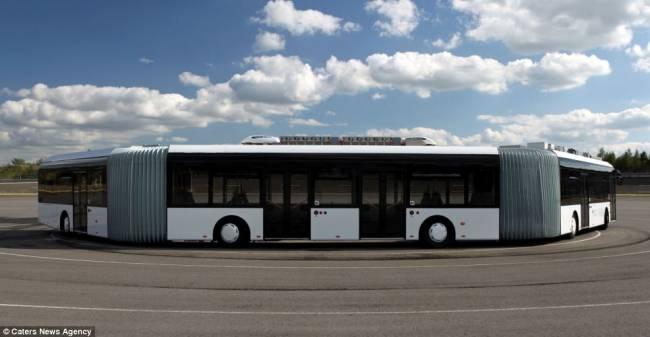 worlds largest bus world amazing