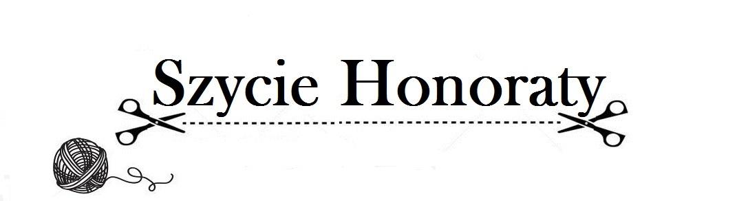szycie Honoraty