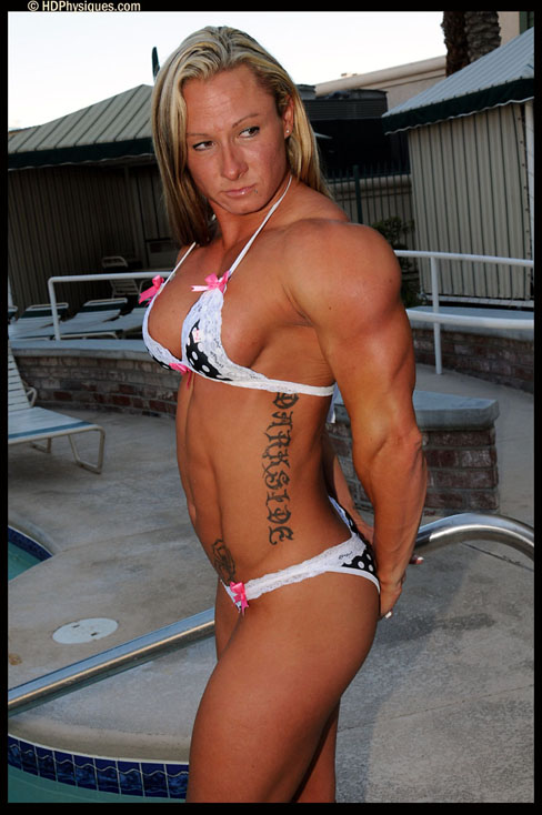 Milinda Richardson Female Muscle Bodybuilder Blog HDPhysiques