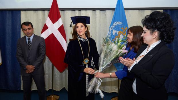 Princess Mary visits Tajikistan