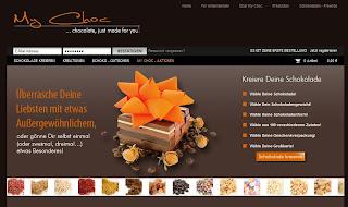 my choc Shop Schokolade selber machen testen