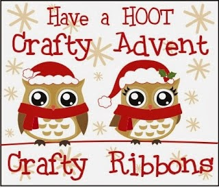 Crafty Ribbons has blog candy and an advent