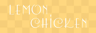 Lemon Chicken Font