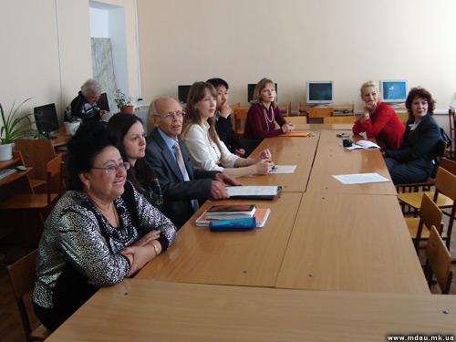 """Засідання секції """"Сучасні комп´ютерні технології в економіці й освіті"""", 2011."""