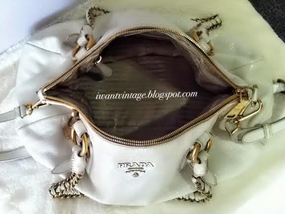 I Want Vintage   Vintage Designer Handbags: Prada Talco Cervo Lux ...