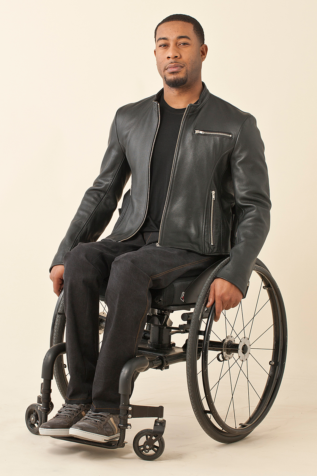 Separating Biker Jacket for Men from IZ Adaptive
