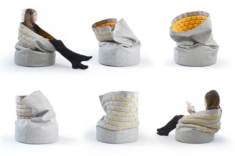 disappear here new furniture design the kumeko snug. Black Bedroom Furniture Sets. Home Design Ideas
