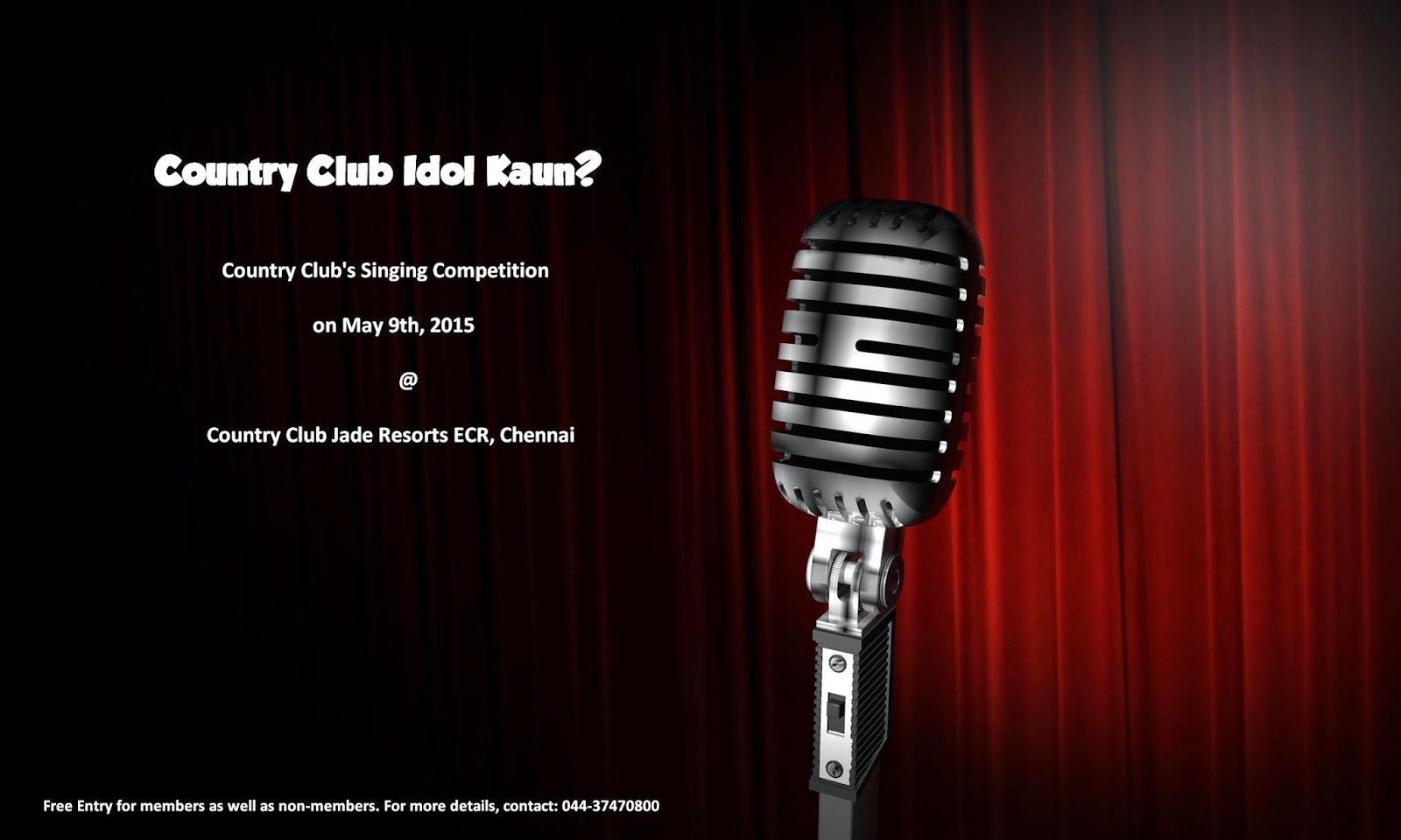 Country Club Idol Kaun, Country Club India