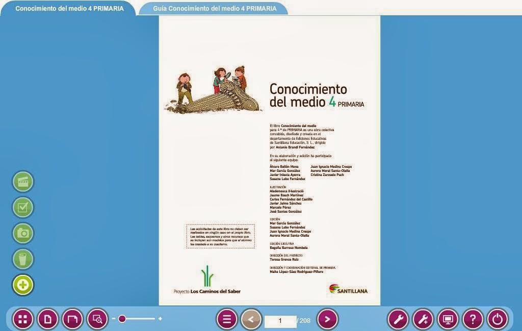 Libromedia Santillana de Conocimiento del Medio