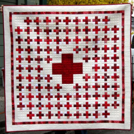 Free Crochet Pattern Maltese Cross Afghan - Crocheting Patterns