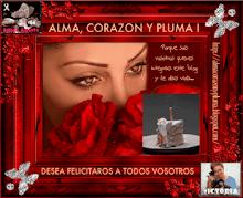REGALO CUMPLE BLOG   DE ALMA CORAZÓN Y PLUMA