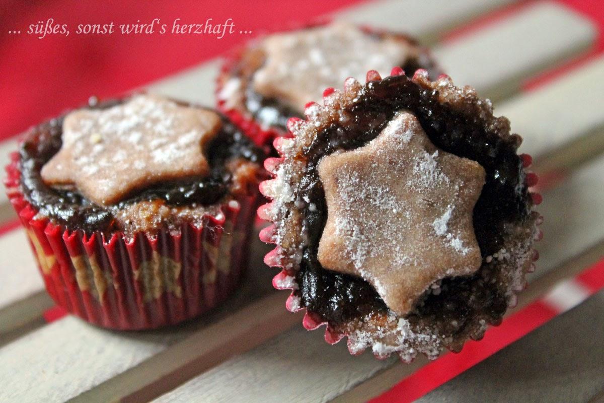 süßes sonst wird's herzhaft..: Linzer Mini Muffins