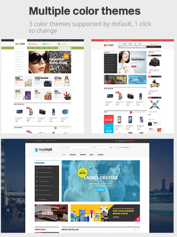 Multipurpose Responsive Prestashop Themes