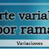 Diferencias del importe variable dependiendo de la rama de estudio.