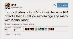 Tweet by Kamal R Khan