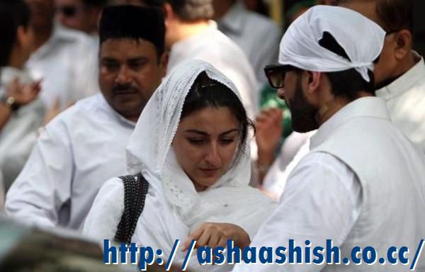 Asha Ashish: Saif, Sharmila, Soha, Kareena at Mansur Ali ...