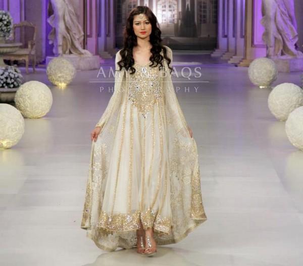 Bridal Collection At Pantene Bridal Couture Week Pakistani Fashion Long Hairstyles