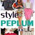 Peplum Style