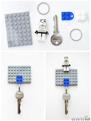 Móc khóa Đồ Chơi Lego