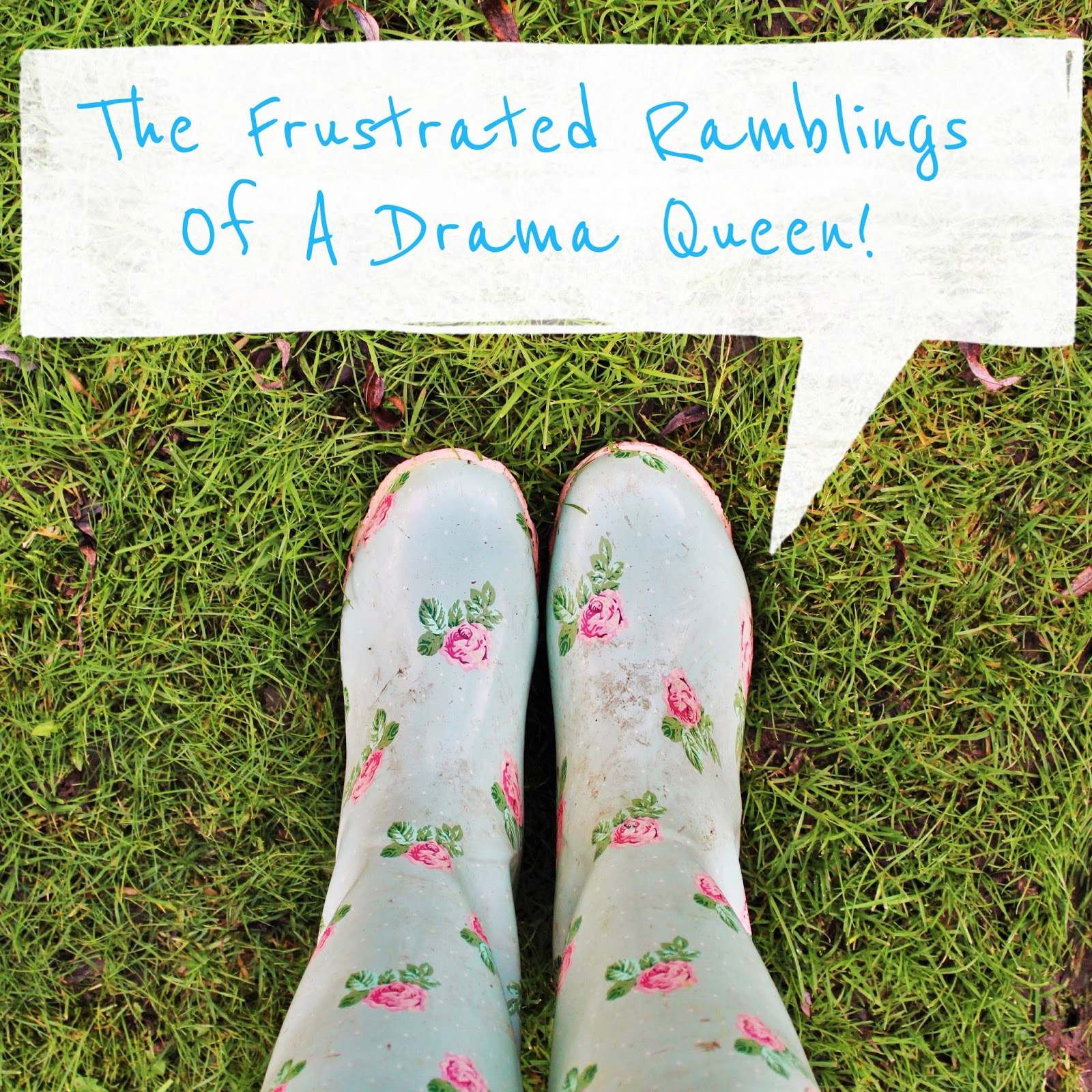 Rose Wellies confessions of a drama queen